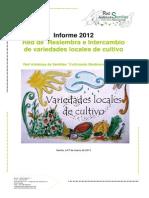 Informe RAS Red Resiembra e Intercambio ReI 2012