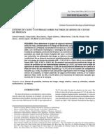 Estudio de Casos y Controles Sobre Factores de Riesgo de Cáncer