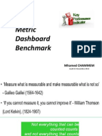KPI Metric â Dashboard Benchmark CHAMMEM