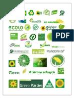 Green Parties - Global List