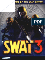 SWAT 3 - Tactical Game of the Year Edition - Manual - PC