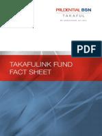 Takafulink Fund Fact Sheet