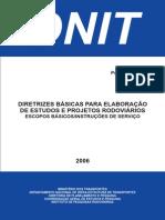 DNIT diretrizes básicas manual_estudos e projetos rodoviários.pdf