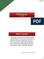 Textile Dyeing - Introduction-libre