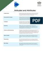 HPL Values Attitudes Attributes
