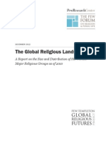 The Global Religious Landscape