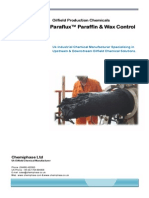 ParaFlux - Oilfiled Paraffin, Wax & Asphaltene Control Agents