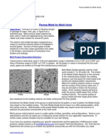 MOTTCORP _ Application Briefs _ Porous Metal for Mold Vents