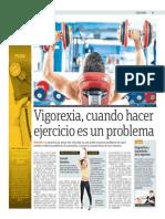 Vigorexia, Cuando Hacer Ejercicio Es Un Problema