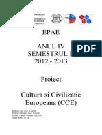 Proiect CCE - Curs