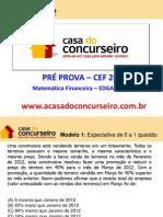 Mat Financeira CEF 2012