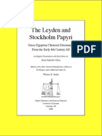 Leyden & Stockholm Papyri