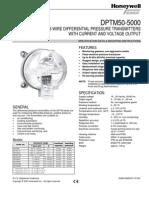 DPTM50 500 Diff Pressure Transmitter FEMA_EN0B 0466 GE51 R1007