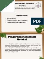 Kimia Konstektual Chapter 10 (Manipulasi Molekul Dan Desain Obat)