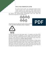 Simbol Segitiga Pada Produk Plastik