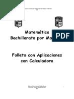 Curso Matemática Bachillerato Con Calculadora 1