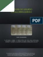 Análisis de Liquido Cefalorraquídeo