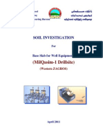 MilQasim-1,Soil Investigation Report