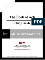 The Book of Acts - Lesson 3 - Study Guide
