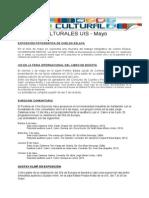 Agenda Cultural Mayo 2014