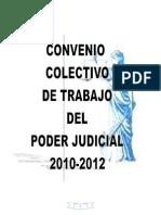 Trabajo de Laboral Convenio Colectivo Poder Judicial 2010