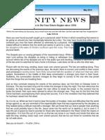 2014 -May Trinity News