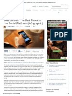 Post Smarter_ the Best Times to Use Social Platforms (Infographic) _ Entrepreneur