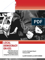 Justice Strategies - Local Democracy on ICE (Feb. 2009)