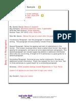 Business Letter Samples 5