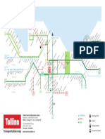 Tallinn Transportation Map 2014