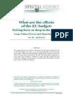 SR No 86 Effects of the EU Budget