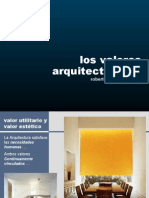Valores Utilitarios en La Arquitectura