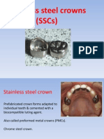 Stainless Steel Crowns (SSCs)