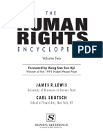 The Human Rights Encyclopedia. Vol. 2