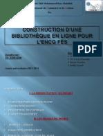 Construction d'Une Bibliothèque en Ligne Pour l'ENCG Fès