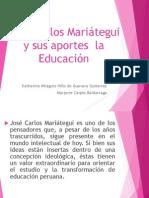 Aportes de José Carlos Mariátegui a La Educación