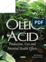 Oleic Acid- Production, Uses and Potential Health Effects 2014