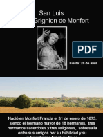 San Luis Maria Grignion de Monfort. 28 Abril.
