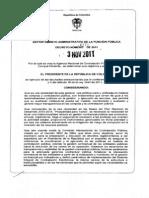 1. Decreto 4170 Del 3 de Noviembre de 2011
