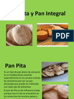 Pan Pita y Pan Integral