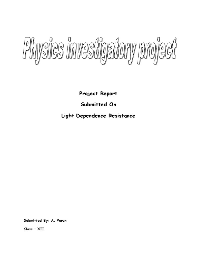 Light dependent resistorldr physics investigatory project light dependent resistorldr physics investigatory project bipolar junction transistor electrical resistance and conductance yelopaper Choice Image