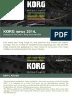 Korg News 2014