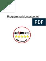Programma 5 Stelle Montespertoli