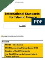 AAOIFI - International Islamic Finance Standards