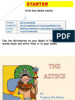 introduction to aztecs