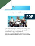GUIA Del Videojuego Grand Theft Auto 5 (GTA v)