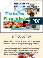 Industry Analysis- Pharma Sector