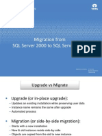 SQL Server 2000 to 2008 (MIgrate vs Upgrade)