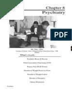 Ch8 Psychiatry