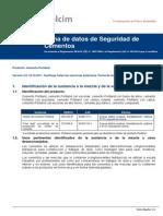 FDS Cemento Octubre 2011 FichaDatosSeguridad